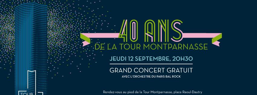 La Tour Montparnasse fête ses 40 ans en chansons…