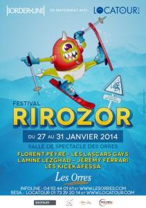 «La Station des Orres» accueille le Festival «RIROZOR 2014 »  …
