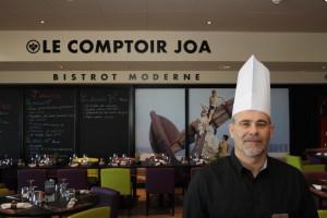 Nouveau Chef au Comptoir JOA Bistrot Moderne du Casino JOA d'Antibes Juan-les-Pins…