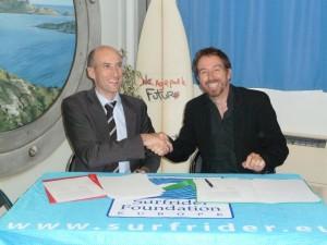 Marseille : Signature d'un protocole de coopération entre «Surfrider Foundation Europe» et «l'Agence de l'eau Rhône Méditerranée Corse»…