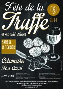 Colomars : «Fête de la Truffe 2014 et Marché d'hiver» …