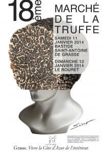 Grasse : «18 ème Marché de la Truffe»…