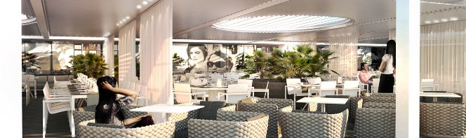 «Une grande vague de nouveauté pour la Plage de l'Hôtel Majestic Barrière à Cannes»…