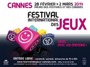 Cannes : « Festival International des Jeux 2014  »  …