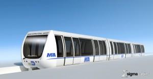 «POMA installe un MiniMetro® à l'aéroport de Miami » …