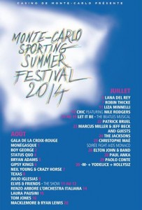 Monte-Carlo : Sporting Summer Festival 2014 présente «Kevin COSTNER & MODERN WEST»…