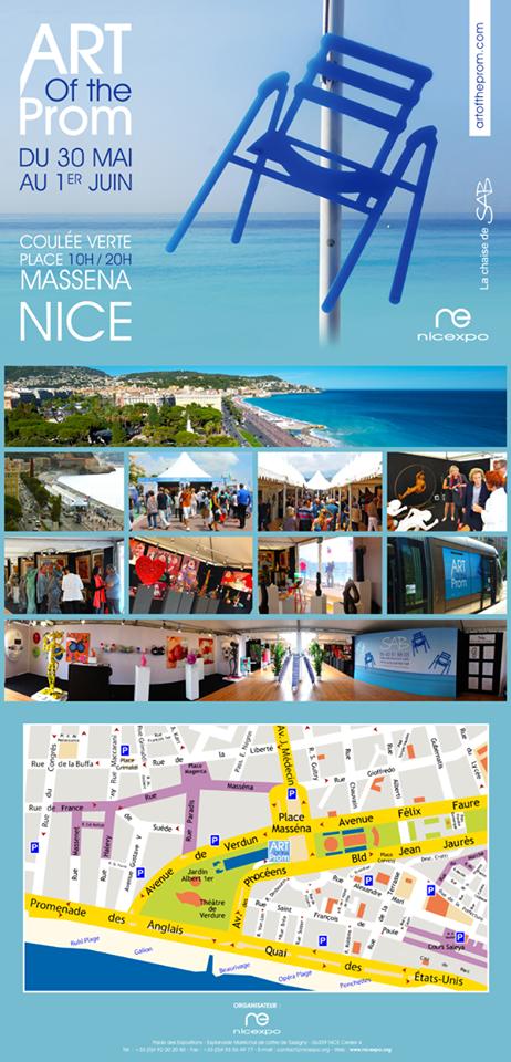 Nice : 2ème édition de «Art of The Prom», le rendez-vous des artistes et des galeries…
