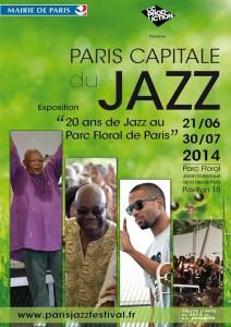 «Le Paris Jazz Festival» présente l'exposition : « Paris Capitale du Jazz » 20 ans de Jazz au Parc Floral…