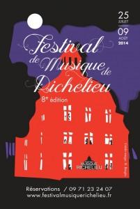 Richelieu (37) Indre-et-Loire : «8 ème édition du Festival de Musique »  …