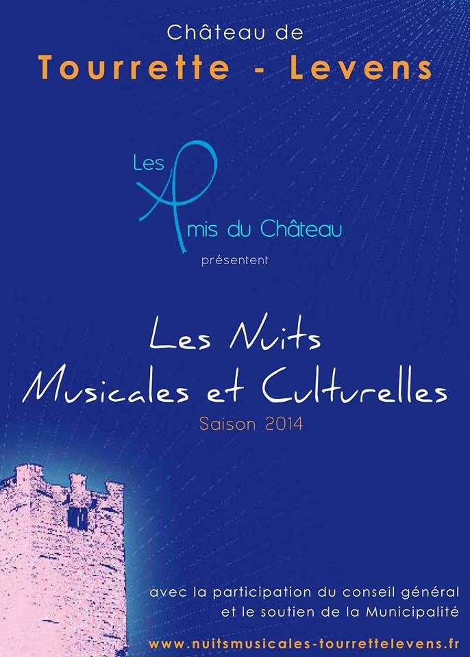 Tourrette-Levens : «Nuits Musicales et Culturelles du Château» et «3 ème Journée de la Préhistoire»…