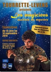 Tourrette-Levens : Exposition «Les Magiciens Maître du Mystère»…