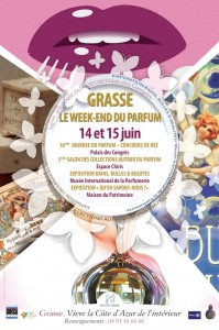 Grasse : « 1er Week-end du Parfum  » …