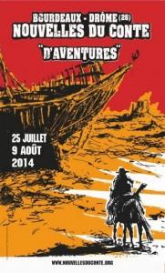 Bourdeaux (26) : «Festival les Nouvelles du Conte sur le thème de l'Aventure»…
