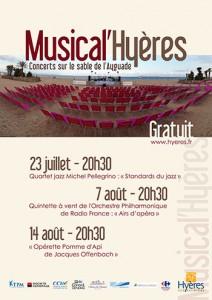 Hyères : Festival de Musique Classique «Musical'Hyères» Plage de l'Ayguade…
