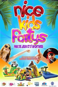 Ouverture cet été du Parc de Jeux et d'Aventures «Nice Kids Partys»…