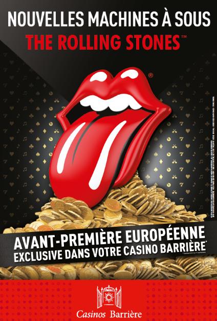 The Rolling Stones ™ en avant-première européenne dans les Casinos Barrière…