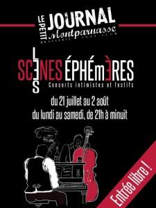 Paris Jazz : «Les Scènes Éphémères» reprennent cet été au Petit Journal Montparnasse !