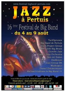 Pertuis (84) : 16 ème édition du Festival de Big Band…