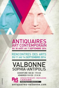 Valbonne Sophia-Antipolis : 30 ème Salon des Antiquaires, Art Moderne & Contemporain…