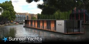 Des catamarans pour des utilisations spécifiques – Restaurant et Hôtel Flottants par Sunreef Yachts