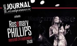 Jazz Paris : Le Petit Journal Montparnasse accueille Rosemary PHILLIPS…