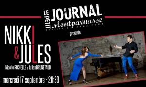 Jazz Paris : Nicolle ROCHELLE et Julien BRUNETAUD se produisent au Petit Journal Montparnasse…