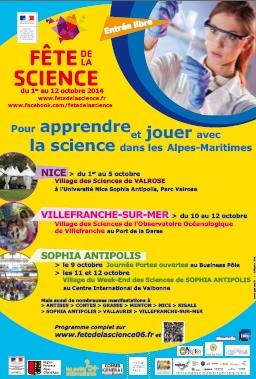 Académie de Nice : Fête de la Science 2014 …