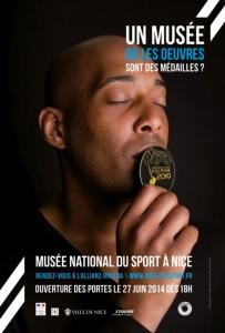 Nice : Musée National du Sport «VICTOIRES» Exposition du 4 Octobre 2014 au 3 Février 2015…