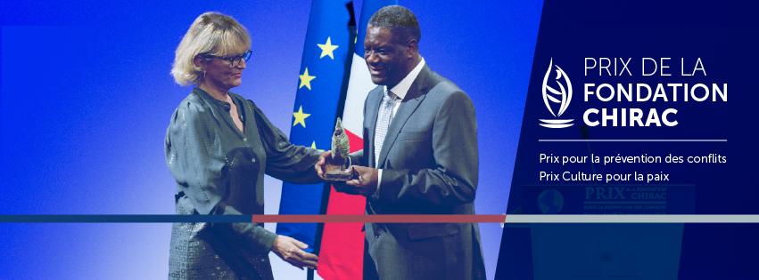 Remise des Prix 2014 par la Fondation CHIRAC…