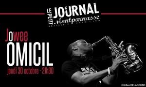 Jazz Paris : Jowee OMICIL se produit au Petit Journal Monparnasse…