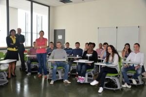 Sophia-Antipolis : Une salle innovante pour les nouveaux étudiants en innovation…