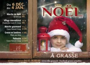 Grasse : Marché de Noël…