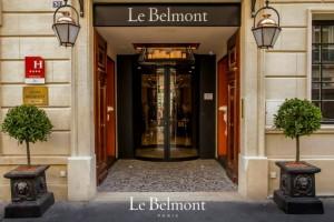 Paris : L'Hôtel Le Belmont accueille son premier Marché de Noël…