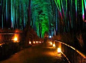 Kyoto (Japon) : La Fête des Lumières d'Arashiyama…
