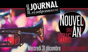 Jazz Paris : Soirée du Nouvel An 2015 en compagnie du «Mardi Brass Band» au Petit Journal Montparnasse…