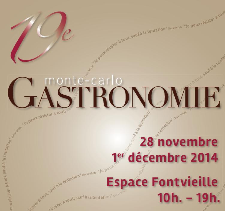 19 ème édition de Monte-Carlo Gastronomie…