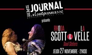 Jazz Paris : Rhoda SCOTT & La VELLE sont accueillies au Petit Journal Montparnasse…
