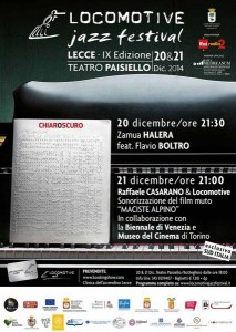 Lecce (Italie) : « Locomotive Winter Jazz Festival 2014  » …