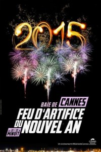 Cannes : Feu d'Artifice du Nouvel An…