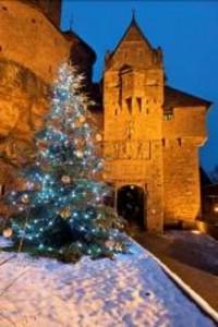 Alsace : Un mois de Décembre haut en couleurs au Château du Haut-Koenigsbourg…