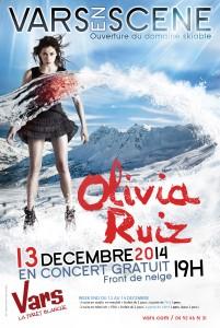 Vars (Hautes-Alpes) : Concert d'Olivia RUIZ et Programme de Noël…