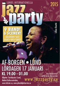 Lund (Suède) : « Jazz Party Festival 2015  » …