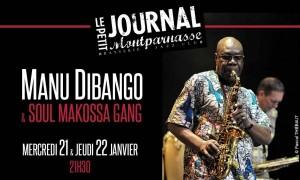Jazz Paris : Manu DIBANGO & Soul Makossa Gang au Petit Journal Montparnasse …