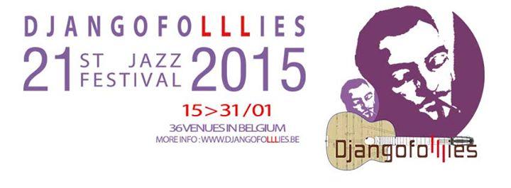 (Belgique) : Djangofolllies Jazz Festival 2015…
