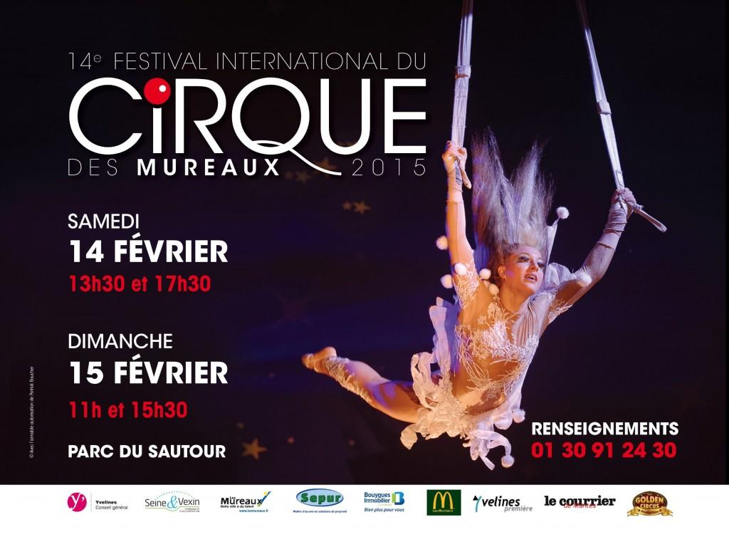 Les Mureaux (78) : «14 ème édition du Festival International du Cirque»…