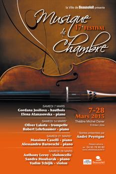 Beausoleil : «17 ème Festival de Musique de Chambre»…