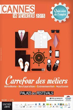 Cannes : 13e édition du Carrefour des métiers au Palais des Festivals et des Congrès…