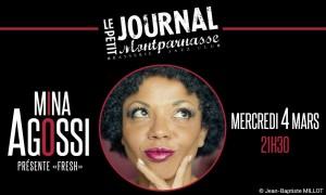 Jazz Paris : Mina AGOSSI sur la scène du Petit Journal Montparnasse…