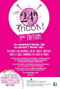 Paris : «1ère édition des 24 h Tricot» : À vos Aiguilles, prêts, tricotez !…