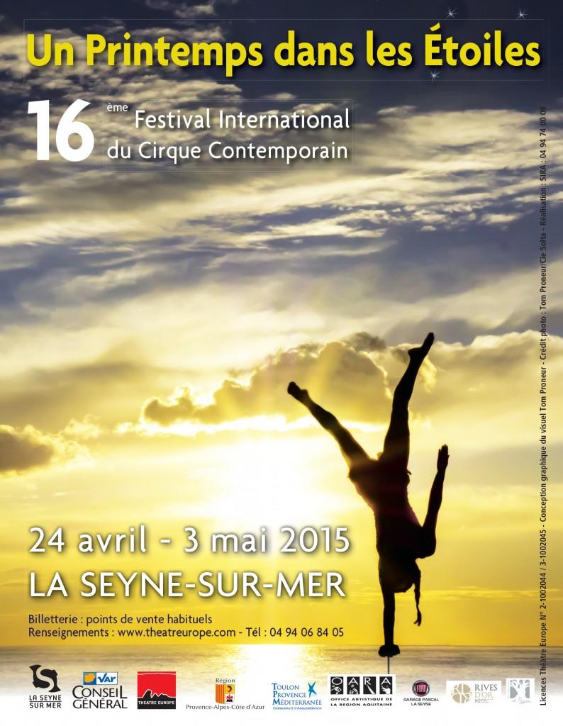 La Seyne-sur-Mer : Un printemps dans les Etoiles : la nouvelle édition du 16ème Festival International du Cirque Contemporain…
